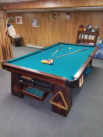 SOLO® - Hempstead - Columbia Pool Table For Sale-86