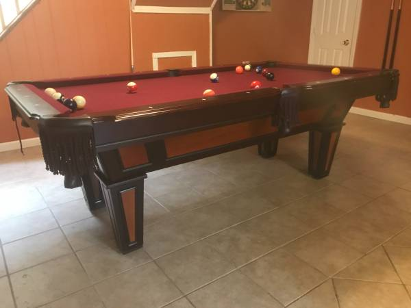 Pool Tables For Sale In Long Island SOLO Pool Table Movers Long - Red top pool table