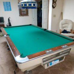 1960's Brunswick Pool Table