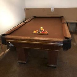 8 Foot Slate Pool Table - Golden West Billiards Inc (SOLD)