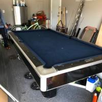 7ft Brunswick Slate Pool Table