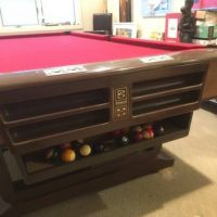 Brunswick Pool table and Complete Accessories