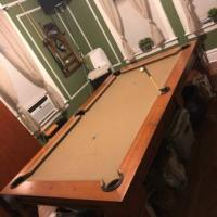 Slate Dining Pool Table
