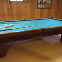 Circa 1910 Sanford Billiard Table
