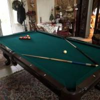 The CL Bailey Pool Table