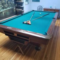 Brunswich Gold Crown III Professional Pool Table