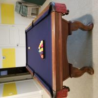 7' Olhausen Table with Kettler Ping Pong top